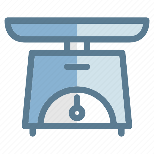 cooking, food, gastronomy, healthy, kitchen, restaurant, scales icon