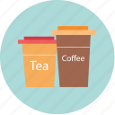 bekery, beverage, cafe, coffee, cup, tea, water icon