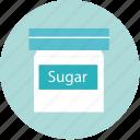 sugar, cook, food, bekery, bottle, cake