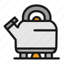boiling, cooking, kitchen, water icon