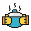 bring, cooking, hot, pot, kitchen icon