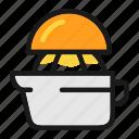 cooking, juice, juicer, lemon, squeezer icon