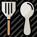 cooking, cutlery, equipment, food, kitchen, restaurant, utensils icon