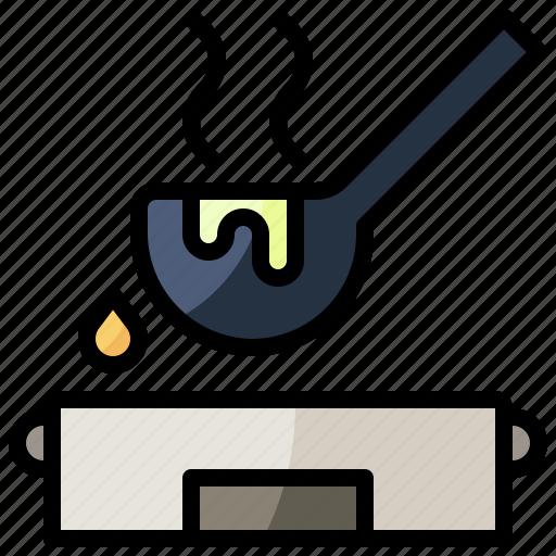 Food, kitchenware, ladle, restaurant, soup, tools, utensils icon - Download on Iconfinder