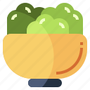 bowl, cooking, cutlery, equipment, food, restaurant, salad icon