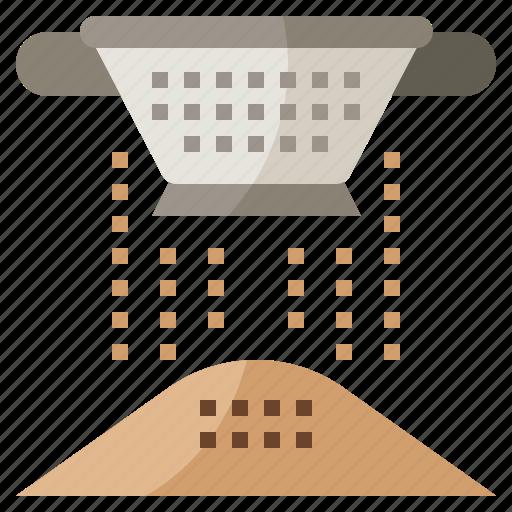colander, food, holes, kitchenware, restaurant, strainer icon