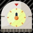 date, food, kitchen, kitchenware, restaurant, time, timer icon
