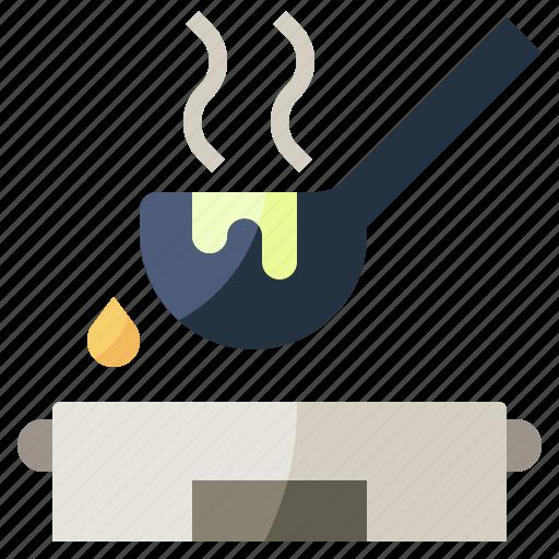 food, kitchenware, ladle, restaurant, soup, tools, utensils icon