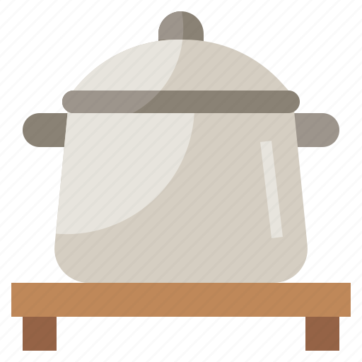 boiling, cook, fire, food, hot, pot, restaurant icon