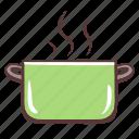 pan, cooking, kitchen, boil, food