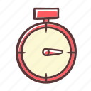 timer, clock, kitchen, cook icon