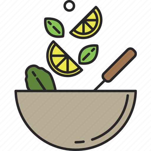 food, lemon, meal, mix, salad, vegetable, veggies icon