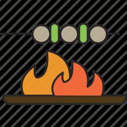 barbique, bbq, dinner, food, kebab, meal icon