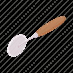 cartoon, kitchen, knife, metal, pizza, steel, tool icon