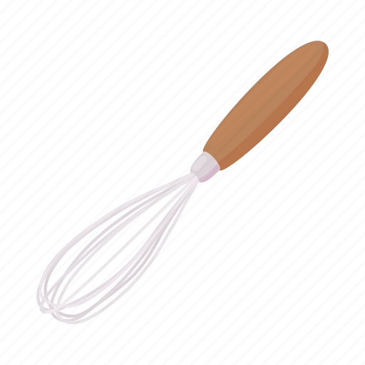 cartoon, cooking, equipment, kitchen, tool, whip, whisk icon