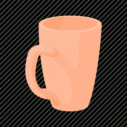 beverage, cartoon, clean, cup, drink, empty, mug icon