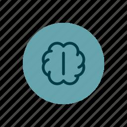 brain, creative, creativity, genius, ideas, intelligence icon