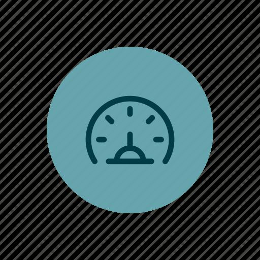 dashboard, fast, gauge, measuring, meter, speed icon