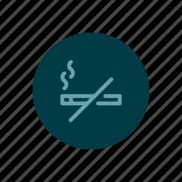 free, no, non, prohibited, smoke, smokers, smoking icon