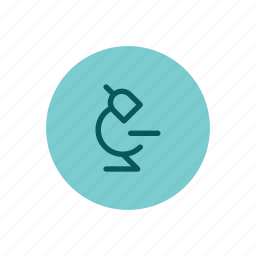 analysis, lab, laboratory, microscope, research, science, testing icon