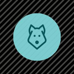 animal, canine, dog, hound, pet, veterinarian, wolf icon