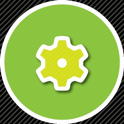 cog, pref, settings icon