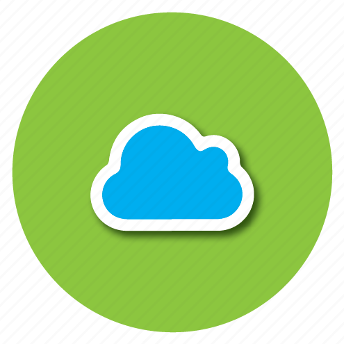 cloud, online, sky, up icon
