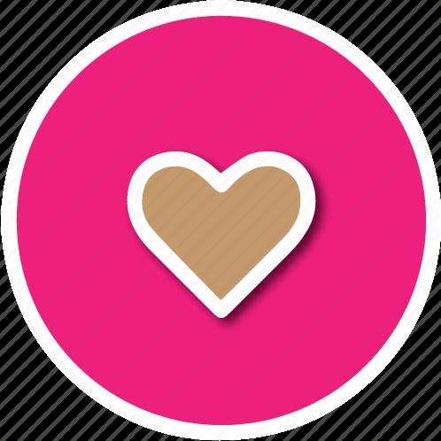 favourite, heart, love icon