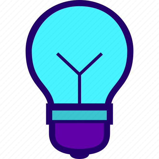 bulb, idea, light, lightbulb, luminaire icon