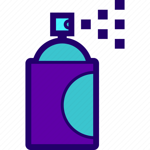 can, paint, paintwork, spray icon