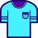 cloth, clothes, shirt, sport, summer, t icon
