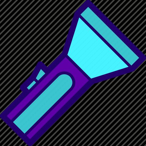 bright, flashlight, lamp, light, torch icon