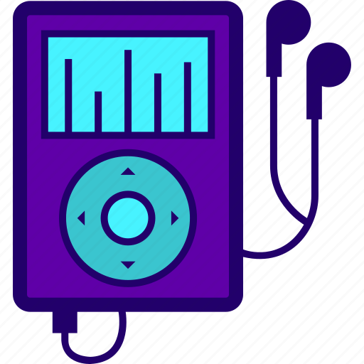 digital, gadget, mp3, music, player, storage icon