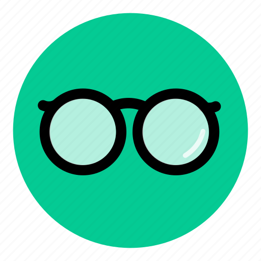 eyecare, eyeglasses, geek, nerd, opticals, specs, spectacles icon