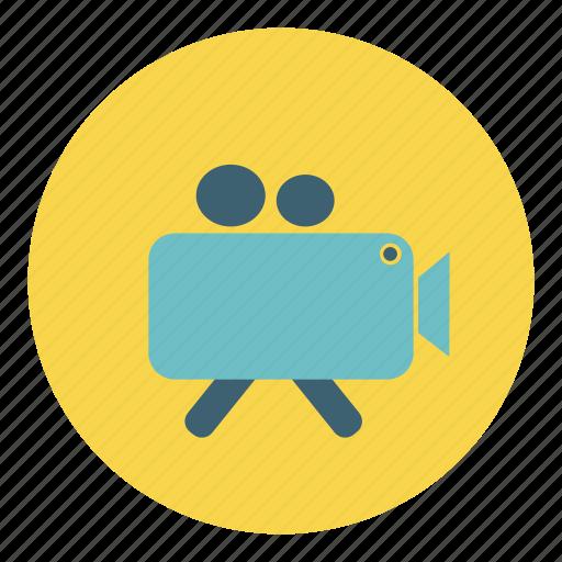 camera, film, media, movie, recorder, shoot, video icon