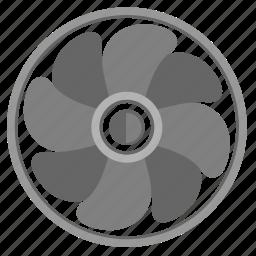 climate, cooler, home, ventilation, vint icon