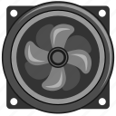 control, cooler, pc, temperature, ventilation icon