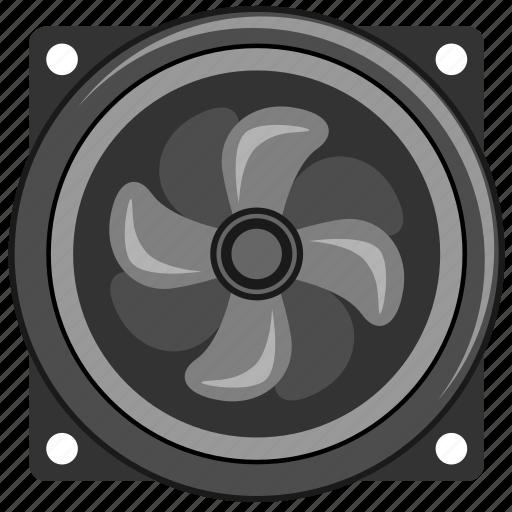 control, cooler, pc, temperature, ventilation icon