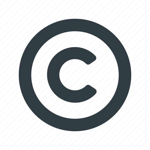 Restriction, copy, right, copyright icon - Download
