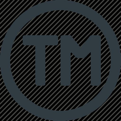 copy, copyright, mark, restriction, right, trade, trademark icon
