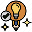 art, creative, creativity, idea, inspiration, lightbulb, pencil