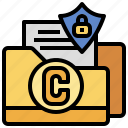copyright, document, files, folders, script, secure, writing