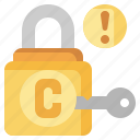copyright, law, lock, locked, protected, security