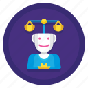 arbitration, arbitration process, fairness, justice, process icon