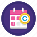 copyright, copyright expiry, expiry, expiry date icon