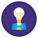 authorship, creative, creative authorship, creativity, idea, inspiration icon