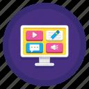 categories, content, media, media content types, multimedia, types