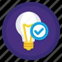 concept, idea, light bulb, origin, original, original concept