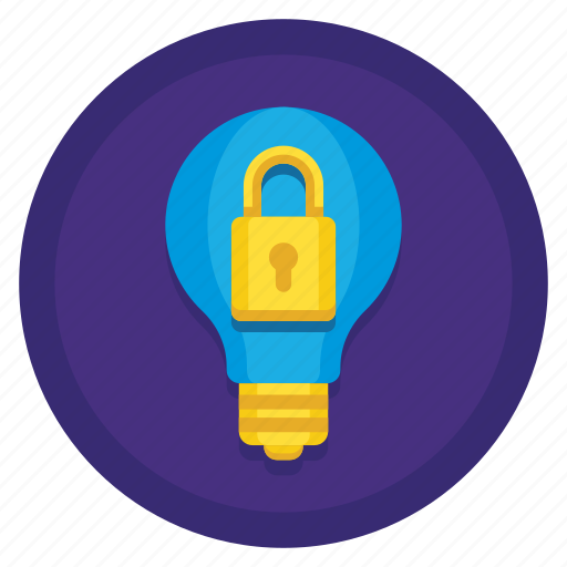 ideas, protected, protected ideas icon