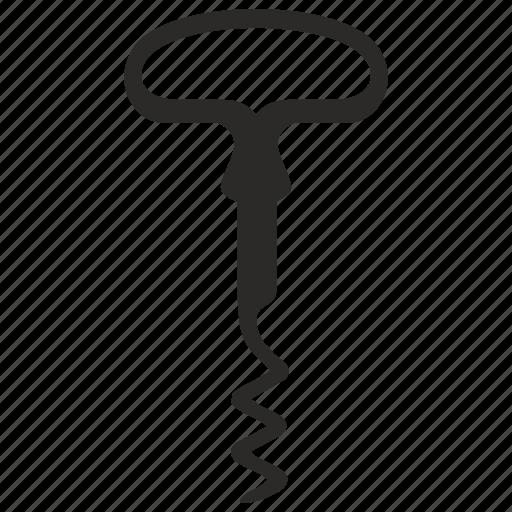 classic, corkscrew icon